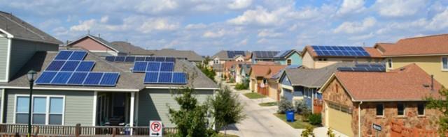 Pecan St Solar panels