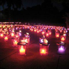 Enoshima Island Spa Candle Festival