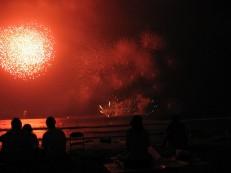 Enoshima Island Spa Kamakura Fireworks Festival
