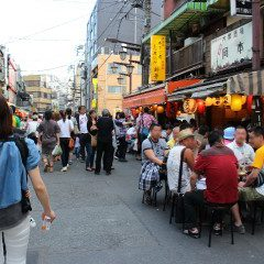 Asakusa hoppy street on Deep Japan