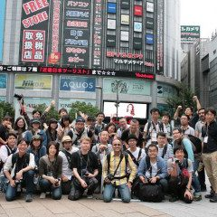 Deep Japan Photography group in Tokyo