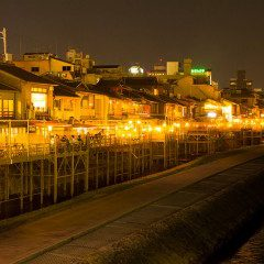 """Deep Japan - Gorgeous and Exotic """"Pontocho"""" in Kyoto!"""