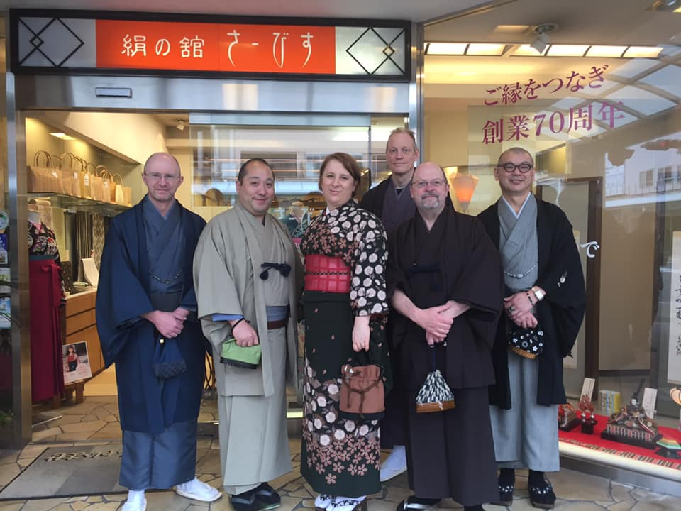 Tottori Consulting team from the JI Core 50
