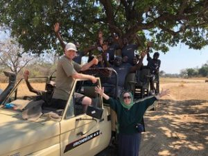 Jarman International meets with One Planet Cafe on a Safari in Africa
