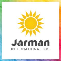 Jarman International KK Rainbow Logo