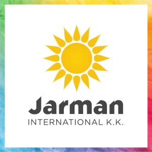 Jarman International KK Rainbow Logo