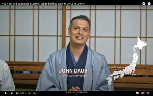 John Daub Has Released His New Episode: 400 Year Old Japanese Cuisine (in Kanazawa) !!