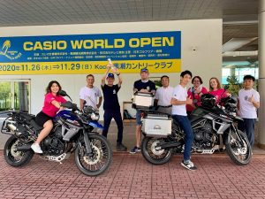 Jarman International Charity Golf Cup in Kochi Prefecture