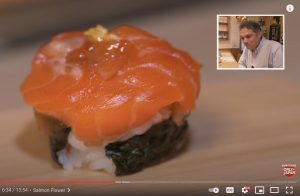Explore the world of saiku decorative sushi with YouTuber John Daub on his ONLY in JAPAN channel! (Tokyo)